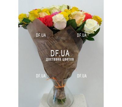 """Bouquet of 51 roses 60 cm - view 3"" in the online flower shop df.ua"