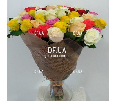 """Bouquet of 51 roses 60 cm - view 4"" in the online flower shop df.ua"