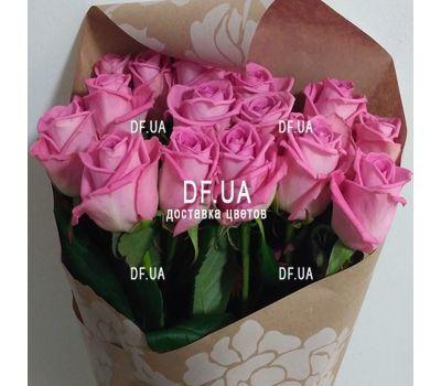 """""""Букет из розовых роз - вид 1"""" в интернет-магазине цветов df.ua"""