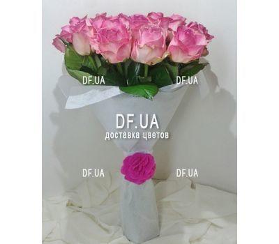 """""""Букет из розовых роз - вид 3"""" в интернет-магазине цветов df.ua"""