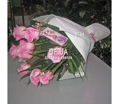 """Bouquet of seven roses - view 1"" in the online flower shop df.ua"