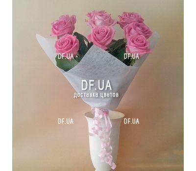 """Bouquet of seven roses - view 3"" in the online flower shop df.ua"