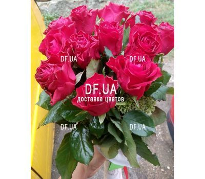 """A bouquet of red roses - view 5"" in the online flower shop df.ua"
