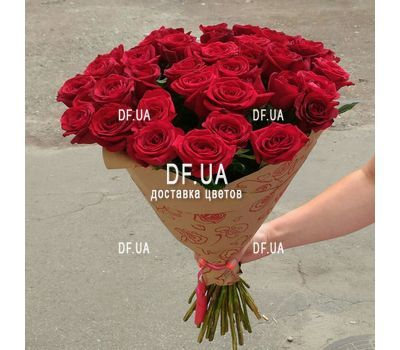 """Bouquet of chic roses - view 2"" in the online flower shop df.ua"