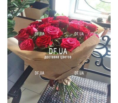 """Bouquet of chic roses - view 4"" in the online flower shop df.ua"