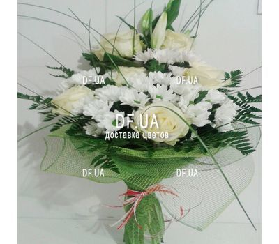 """Bouquet of light colors - view 6"" in the online flower shop df.ua"