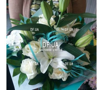 """Bouquet of light colors - view 8"" in the online flower shop df.ua"