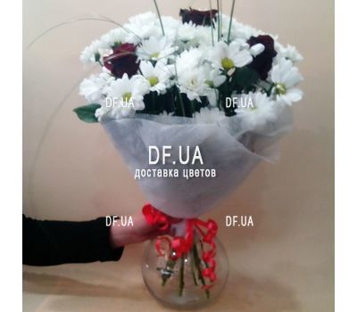 """Flowers for a friend - view 1"" in the online flower shop df.ua"