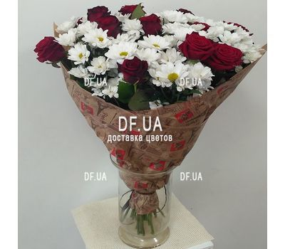 """""""Good morning flowers - view 1"""" in the online flower shop df.ua"""