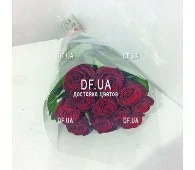 """Classic bouquet of roses - view 1"" in the online flower shop df.ua"