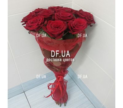 """Classic bouquet of roses - view 3"" in the online flower shop df.ua"