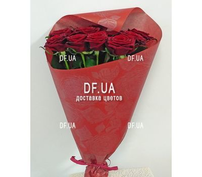 """Classic bouquet of roses - view 5"" in the online flower shop df.ua"