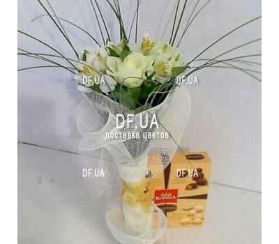 """Corporate bouquet - view 1"" in the online flower shop df.ua"