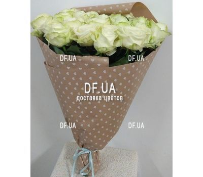 """Beautiful white roses - wiev 4"" in the online flower shop df.ua"