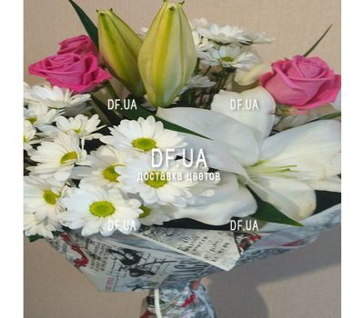 """Beautiful flowers happy birthday woman - view 3"" in the online flower shop df.ua"