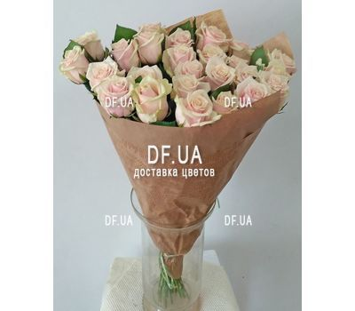 """Cream roses on a short leg - wiev 3"" in the online flower shop df.ua"