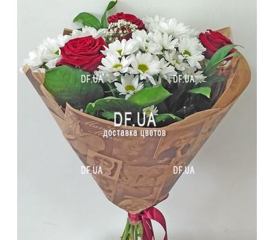 """""""A small bouquet of flowers - view 1"""" in the online flower shop df.ua"""