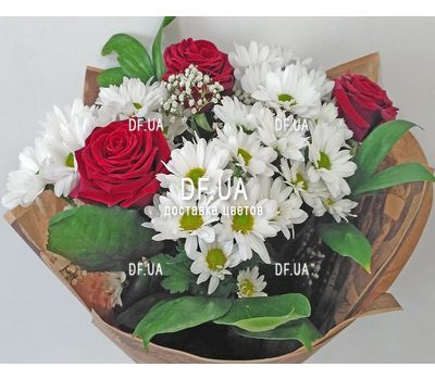 """""""A small bouquet of flowers - view 2"""" in the online flower shop df.ua"""