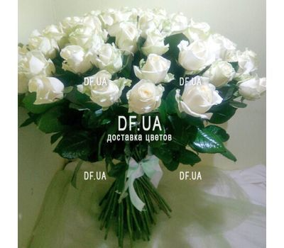 """Delicate bouquet of roses - view 1"" in the online flower shop df.ua"