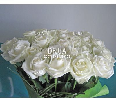 """Delicate bouquet of roses - view 3"" in the online flower shop df.ua"