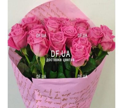 """""""Gift bouquet of roses - view 3"""" in the online flower shop df.ua"""