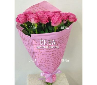 """""""Gift bouquet of roses - view 4"""" in the online flower shop df.ua"""