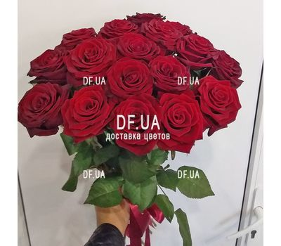 """Popular bouquet of roses - view 1"" in the online flower shop df.ua"