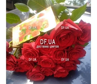 """Popular bouquet of roses - view 4"" in the online flower shop df.ua"