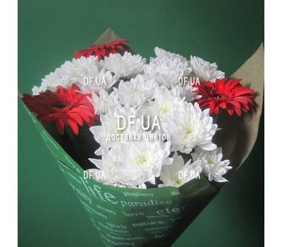 """A real bouquet of flowers - view 9"" in the online flower shop df.ua"