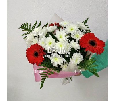 """A real bouquet of flowers - view 4"" in the online flower shop df.ua"