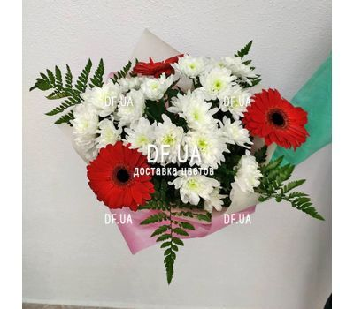 """A real bouquet of flowers - view 5"" in the online flower shop df.ua"