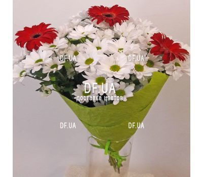"""A real bouquet of flowers - view 6"" in the online flower shop df.ua"