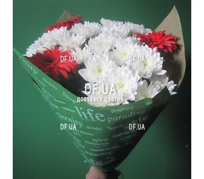 """A real bouquet of flowers - view 8"" in the online flower shop df.ua"
