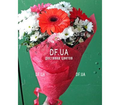 """A real bouquet of flowers - view 2"" in the online flower shop df.ua"