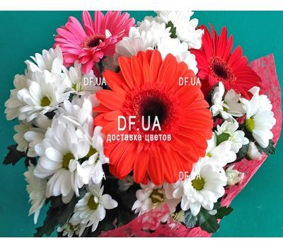 """A real bouquet of flowers - view 3"" in the online flower shop df.ua"