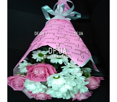 """Happy bouquet - view 1"" in the online flower shop df.ua"