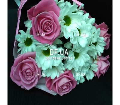 """Happy bouquet - view 2"" in the online flower shop df.ua"