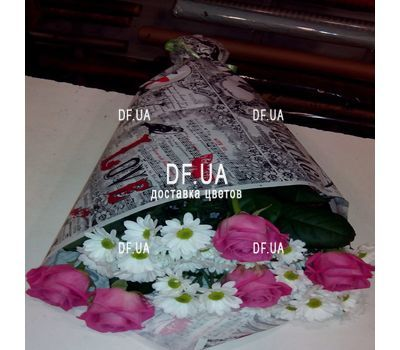 """Happy bouquet - view 3"" in the online flower shop df.ua"