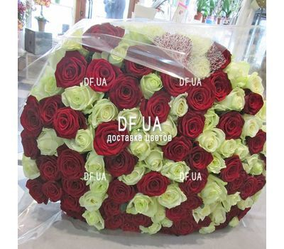 """Elegant bouquet of roses - view 1"" in the online flower shop df.ua"