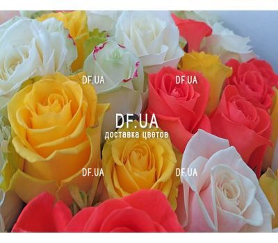 """Bright bouquet roses - view 3"" in the online flower shop df.ua"