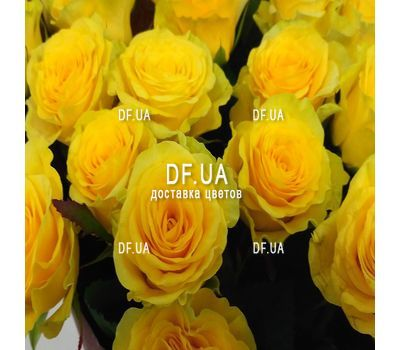 """Yellow roses bouquet - wiev 3"" in the online flower shop df.ua"