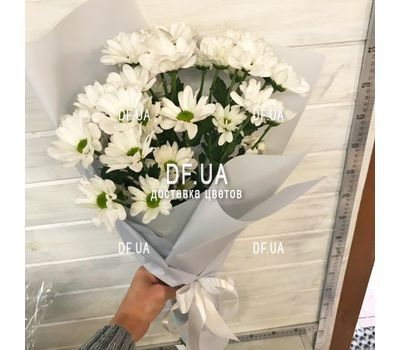 """""""Bouquet of white camomiles - view 1"""" in the online flower shop df.ua"""