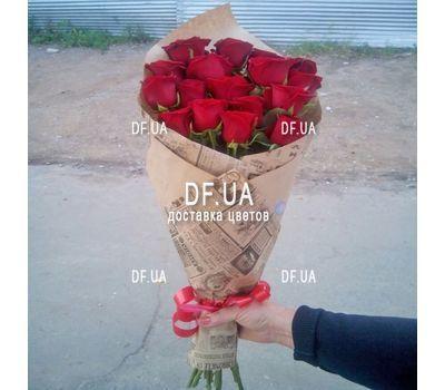 """""""Букет длинных роз - вид 1"""" в интернет-магазине цветов df.ua"""