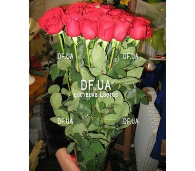 """""""Букет длинных роз - вид 2"""" в интернет-магазине цветов df.ua"""