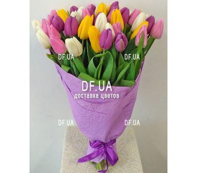 """""""Букет из 51 тюльпана - вид 1"""" в интернет-магазине цветов df.ua"""
