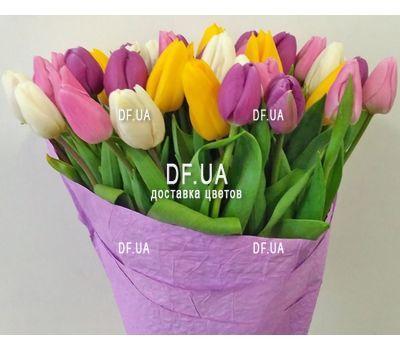 """""""Букет из 51 тюльпана - вид 2"""" в интернет-магазине цветов df.ua"""