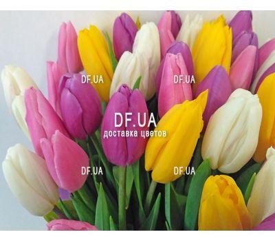 """""""Букет из 51 тюльпана - вид 3"""" в интернет-магазине цветов df.ua"""