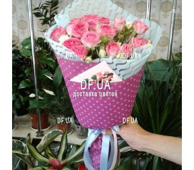 """Bouquet of mini roses - view 1"" in the online flower shop df.ua"