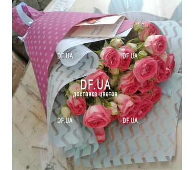 """Bouquet of mini roses - view 2"" in the online flower shop df.ua"