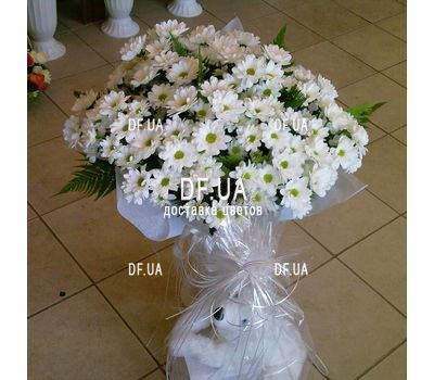 """""""Bouquet of camomiles to buy - view 2"""" in the online flower shop df.ua"""